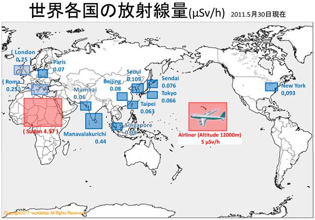 Amount of radiation around the world june 01,2011 JP-1.jpg